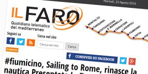 Sailing to Rome sul Faro Online